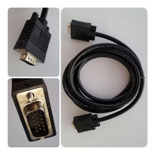 Cable Vga 3mts Macho Kworld Monitor Pc Proyector