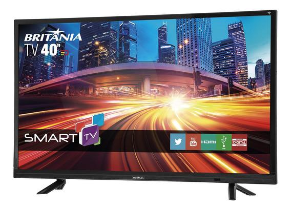 Smart Tv Britânia Led 40 Full Hd Btv40e21s Bivolt