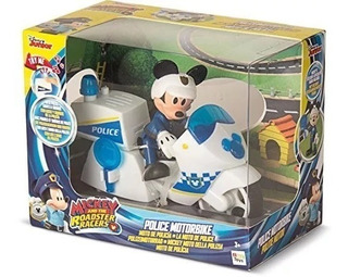 Disney Mickey Clubhouse Moto Policia Roadracers Sonido Luz