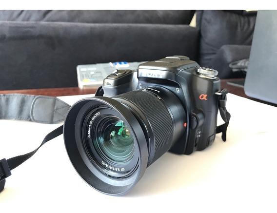 Câmera Dslr Sony Alpha 100 - Nova, Oportunidade