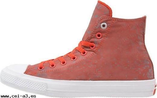 Tenis Converse Signal Red Pure Silver White