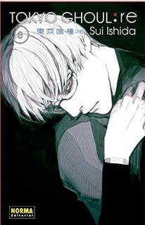 Tokyo Ghoul Re 8 Ishida Sui. Envío Gratis 25 Días