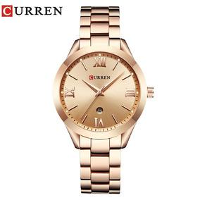 Relógio Curren Feminino De Luxo Clássico