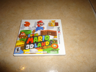 Solo Caja E Instructivos Super Mario 3d Land Nintendo 3ds ++