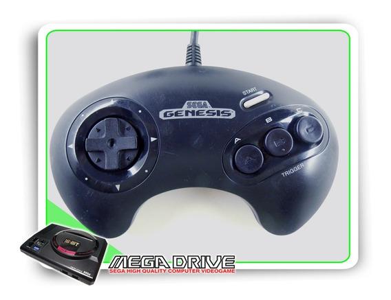 Controle Original Sega Mega Drive / Genesis 3 Botões
