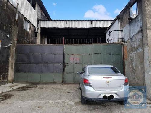 Imagem 1 de 20 de Galpão Para Alugar, 400 M² Por R$ 6.500,00/mês - Saboó - Santos/sp - Ga0031