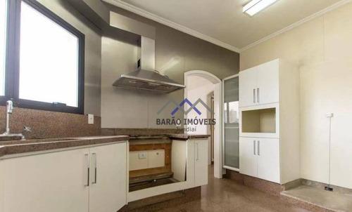 Apartamento Com 4 Dormitórios, 357 M² - Venda Por R$ 2.450.000,00 Ou Aluguel Por R$ 10.000,00/mês - Vila Virgínia - Jundiaí/sp - Ap0572