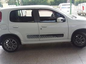 Fiat Uno 1.4 Sporting Pack Seguridad Con Gnc