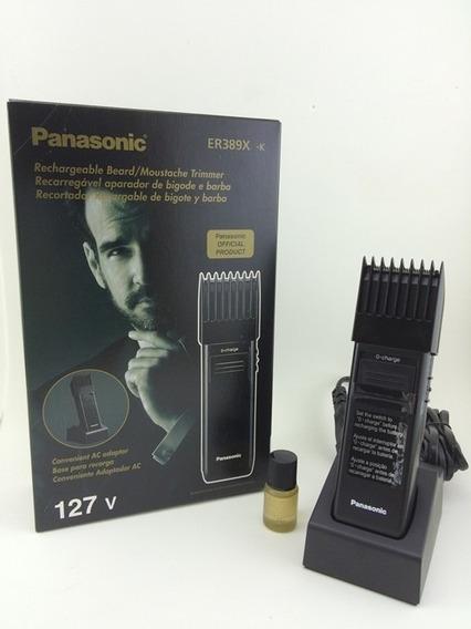 Máquina De Corte Barba Cabelo Bigode Panasonic Er389x 110v, Frete Grátis, Máquina De Cortar Cabelo Profissional Promoção