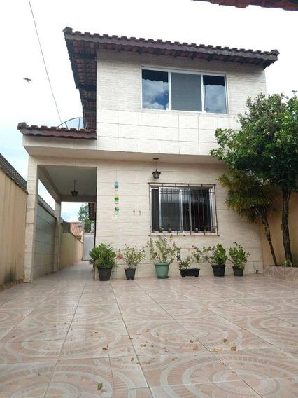 Casa Em Mongaguá 4 Dormitórios R$ 230 Mil Ref: 7829 C