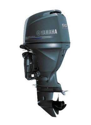 Motor De Popa Yamaha 90 Hp Injeçao 4 T Miami Nautica
