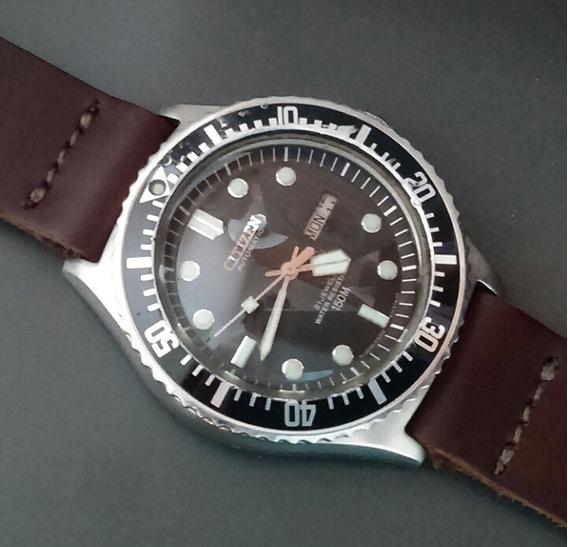 Relógio Citizen Diver Mergulho Automático Raro Made In Japan