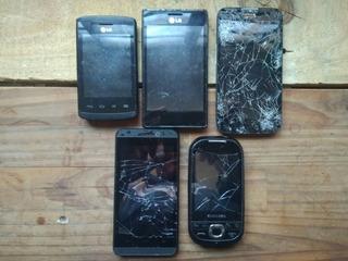 Lote De Celulares Lg, Samsung, Rockcell