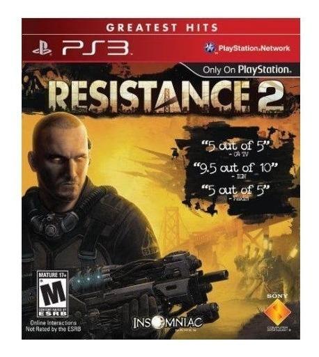 Resistance 2 (mídia Física) - Ps3