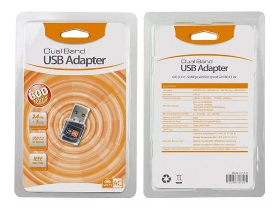 Adaptador Receptor Wireless Usb Wi-fi 5ghz Top Frete Grátis