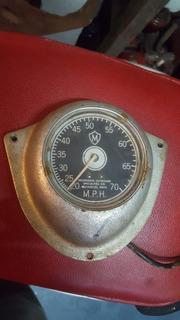 Muskegon Outboard Speedometer Lancha Antigua