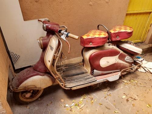 Lambretta Antiga Ldo 1958