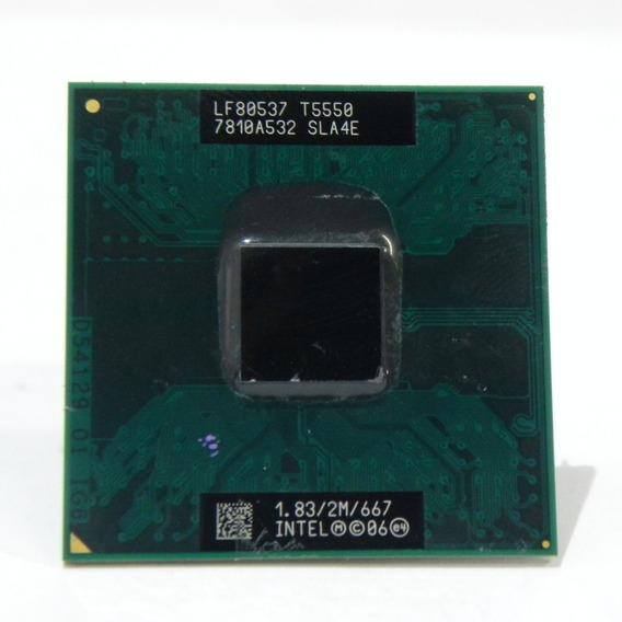 Processador T5550 Intel Core 2 Duo Mobile Sla4e
