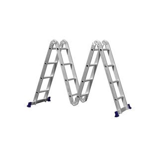Escada Multifuncional 4x4 Dobrável 16 Degraus Mor Barato