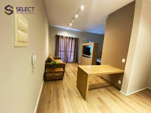Imagem 1 de 27 de Loft Para Alugar, 42 M² Por R$ 2.050,00/mês - Jardim Do Mar - São Bernardo Do Campo/sp - Lf0019