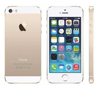 iPhone 5 Dourado 32gb