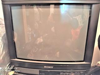 Tv Sony Trinitron 14 Pulgadas (modelo Kv-1484 An) Usado