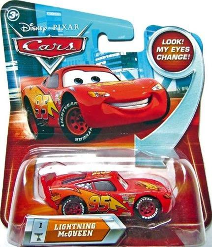 Rayo Mcqueen # 1w/lenticular Ojos Disney/pixar Cars