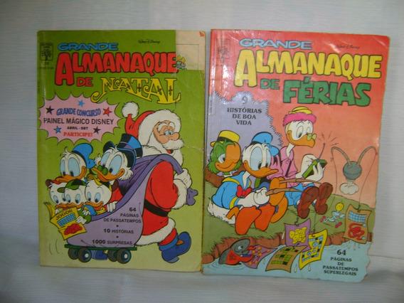 Hqs Disney Grandes Almanaques De Férias E De Natal Ed. Abril