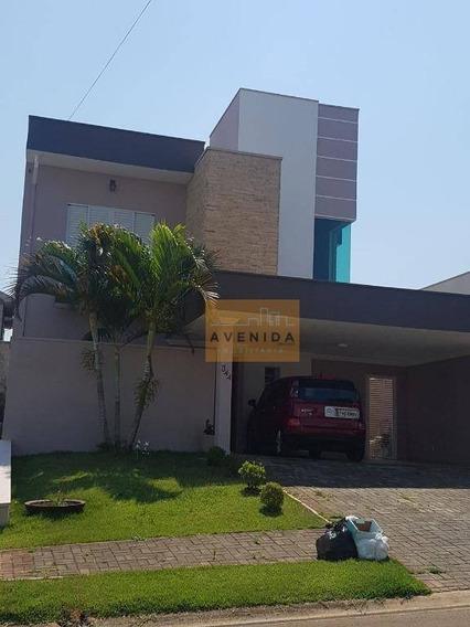 Casa Residencial À Venda, Jardim Planalto, Paulínia. - Ca1019