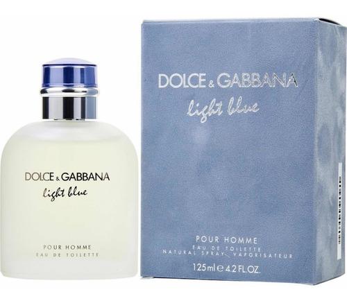 Imagen 1 de 1 de Perfume Light Blue Dolce & Gabbana De Hombre 125 Ml