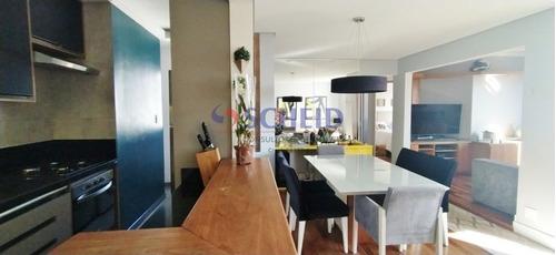 Imagem 1 de 15 de Apartamento A Venda 3 Dormitórios 1 Suíte No Campo Grande ! - Mc8089