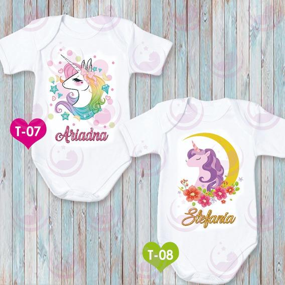 Body De Unicornio Personalizado Para Niñas