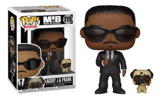 Funko Pop! Agente J Con Frank #715 - Hombres De Negro - Mib