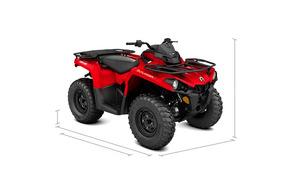 Quadriciclo Can-am Out Lander 450ho 4x4