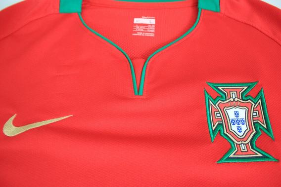 Camisa Portugal 2008 ( Nani) #19 Tam G