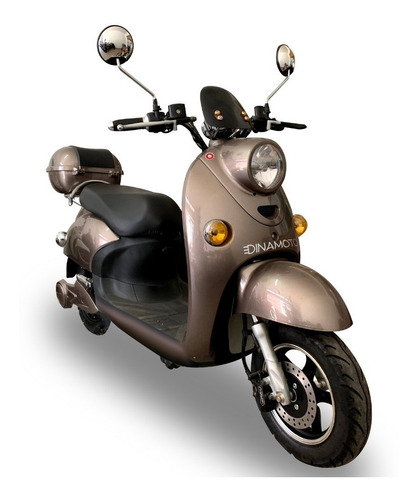 Moto Eléctrica Dinamoto Mod Ñandú 1. 0km. Envíos A Todo Uy