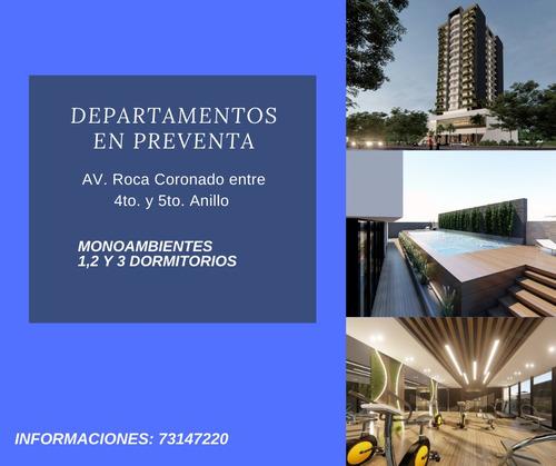 Imagen 1 de 3 de Departamentos En Preventa  Av. Roca Coronado