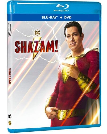 Blu Ray + Dvd ¡shazam!