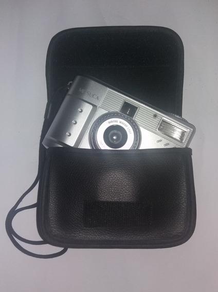 Câmera Mitsuca Dc1319br Digital Usada Funcionando Relíquia