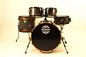 Bateria Dixon Predator Maple Americano Shellpack No Plástico