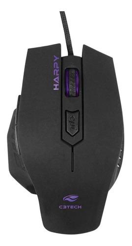 Mouse Gamer Harpy Mg-100bk - C3 Tech