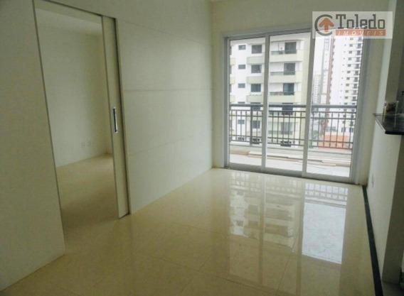 Studio Com 1 Dormitório Para Alugar, 40 M² Por R$ 1.800/mês - Vila Regente Feijó - São Paulo/sp - St0020