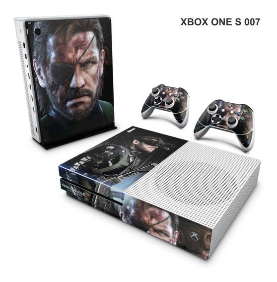 Skin Adesiva Para Xbox One S (slim) - Metal Gear Solid 5