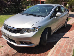 Honda Civic 2013 Exs Automatico Cuero Imepcable