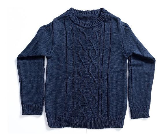 Blusa De Frio Infantil De Trico, Suéter Masculino Quentinho