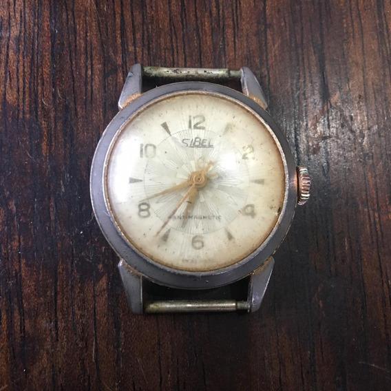 Relógio Sibel De Pulso Antigo Ñ Automatic Com Calendário 033