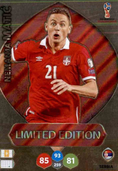 Card Copa 2018 Limited Edition Matic 542