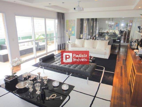 Apartamento Com 4 Dormitórios À Venda, 239 M² Por R$ 3.699.850,00 - Brooklin - São Paulo/sp - Ap10330