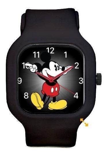 Relogio Mickey Do Apple Watch Pulseira Silicon A Prova Dagua