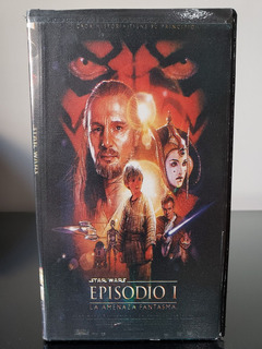 Star Wars: Episodio I - La Amenaza Fantasma. Vhs